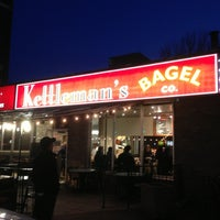 Photo taken at Kettleman's Bagel Co by Yu D. on 4/3/2013