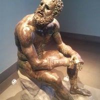 Photo taken at Palazzo Massimo Alle Terme - Museo Nazionale Romano by Gabriele P. on 10/7/2012