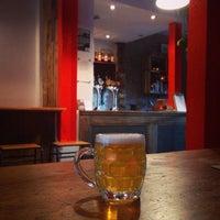 Photo taken at Blackfriars Bar by Justin M. on 10/31/2014
