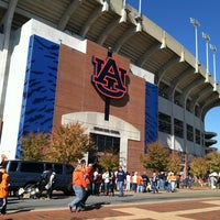 Photo taken at Pat Dye Field at Jordan-Hare Stadium by Robert B. on 11/17/2012