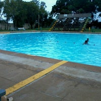 Photo taken at Tesoriere Swimming Pool by Muriel D. on 2/14/2013