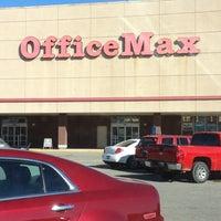 Photo taken at OfficeMax by David M. on 11/13/2012
