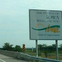 Photo taken at Missouri/Iowa State Line by Daniel P. on 8/8/2013