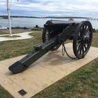 Photo taken at Fort Allen Park by Daniel P. on 9/11/2016