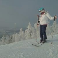 Снимок сделан в ГЛК Гора Волчиха пользователем Anastasia D. 12/9/2012