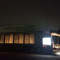 Photo taken at 横須賀ダイヤランドテニスクラブ by Yambo on 1/25/2014