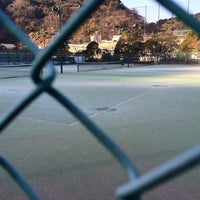 Photo taken at 横須賀ダイヤランドテニスクラブ by Yambo on 1/11/2014