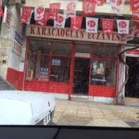 Photo taken at Karacaoğlan Eczanesi by Ece Y. on 4/4/2014