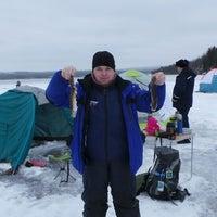 Photo taken at Место открытия сезона зимней рыбалки. by Набокин А. on 11/9/2013