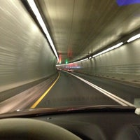 Photo taken at Fort McHenry Tunnel by Stephanie Y. on 1/21/2013