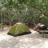 Photo taken at HOSTEL & CABANAS IDA Y VUELTA CAMPING by Alejandra M. on 8/25/2015