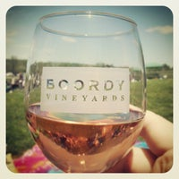 Photo taken at Boordy Vineyards by Christopher S. on 5/12/2013