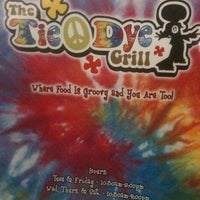 Photo taken at Tie Dye Grill by Mel M. on 10/26/2012