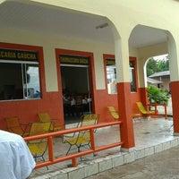 Photo taken at Churrascaria Gaucha by Fábio F. on 10/19/2012
