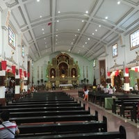 Photo taken at San Guillermo Parish Church by Ralph S. on 9/11/2016