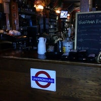 Photo taken at London Underground Pub by Alexander S. on 3/25/2013