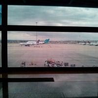 Photo taken at Gate A13 – T1 (MAD) by Noelia D. on 4/3/2013
