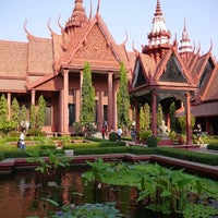 Photo taken at National Museum, Phnom Penh by YeonSoo J. on 1/25/2013