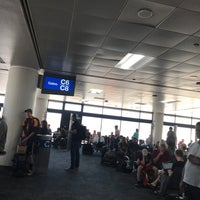 Photo taken at Gate C6 by Dorsie R. on 6/20/2018