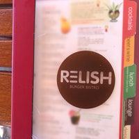 Photo taken at Relish Burger Bistro by Dorsie R. on 5/3/2017