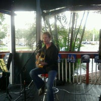 Photo taken at Shoeless Joe's by Christina B. on 10/12/2012