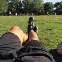 Photo taken at Patilo Soccer Park by Otto L. on 5/1/2014