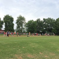 Photo taken at Patilo Soccer Park by Otto L. on 5/10/2014