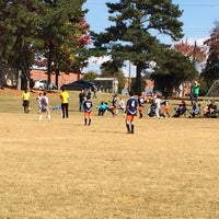 Photo taken at Patilo Soccer Park by Otto L. on 11/2/2013