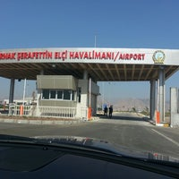 Photo taken at Şırnak Şerafettin Elçi Airport (NKT) by Mehmet Nurullah D. on 10/17/2013