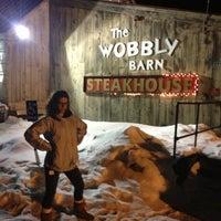 Photo taken at Wobbly Barn Steakhouse by Devon M. on 3/6/2013