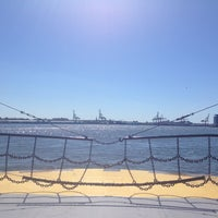 Photo taken at Governors Island Ferry by Ashley G. on 9/15/2012