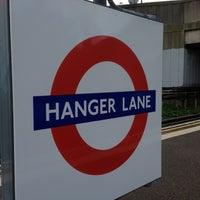 Photo taken at Hanger Lane London Underground Station by Adnan H. on 11/23/2012