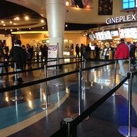 Photo taken at Cineplex Cinemas Queensway & VIP by Angela B. on 11/25/2012