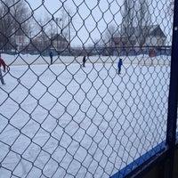 Photo taken at футбольное поле by Ирина Н. on 1/6/2014