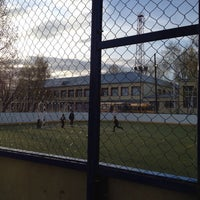 Photo taken at футбольное поле by Ирина Н. on 5/2/2014