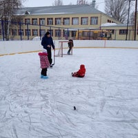 Photo taken at футбольное поле by Ирина Н. on 1/1/2014