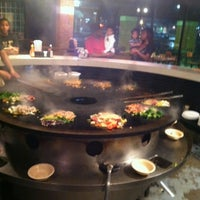 Photo taken at BD's Mongolian Barbeque by Marcus H. on 2/28/2013