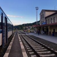 Photo taken at Železniční stanice Semily by Jarda V. on 8/4/2017