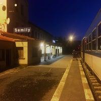 Photo taken at Železniční stanice Semily by Jarda V. on 8/5/2017