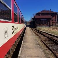 Photo taken at Železniční stanice Jablonné v Podještědí by Jarda V. on 3/27/2017