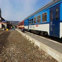 Photo taken at Železniční stanice Semily by Jarda V. on 3/13/2017