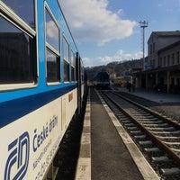 Photo taken at Železniční stanice Semily by Jarda V. on 3/15/2017
