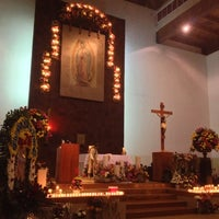 Photo taken at Parroquia de Nuestra Señora de Guadalupe by Angeles M. on 12/13/2012