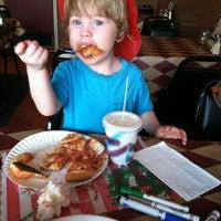 Photo taken at Angelo's Pizzeria by Joy K. on 8/20/2013