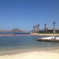 Photo taken at B-long Beach & Restaurant by Yeşim A. on 7/29/2013