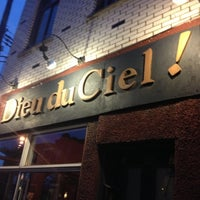 Photo taken at Dieu du Ciel! by Ben J. on 12/7/2012