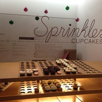 Photo taken at Sprinkles Cupcakes by Kongpon K. on 12/21/2012