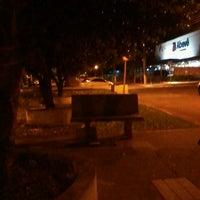Photo taken at Praçinha Itaipurra :D by victor h. on 5/4/2013