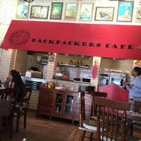Photo taken at Backpackers cafe, Elante by Karan A. on 10/19/2015