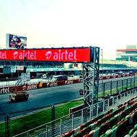 Photo taken at Buddh International Circuit by Karan A. on 10/24/2012